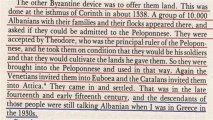 Exposing Greek lies and propaganda - NICHOLAS HAMMOND ABOUT THE MODERN GREEKS