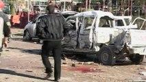 Gunmen, suicide bomber kill dozens in Iraq's Kirkuk
