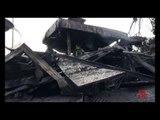 Napoli - Chiquitos, lo chalet dei frullati distrutto dalle fiamme 1 (31.01.13)