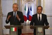 Point de presse avec M. Mario MONTI, Président du Conseil des ministres de la République italienne