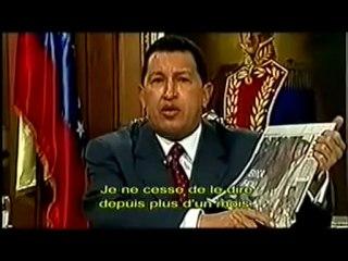 Hugo Chávez sauvé par le peuple 1/3
