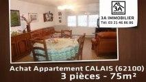A vendre - appartement - CALAIS (62100) - 3 pièces - 75m²