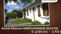 A vendre - maison - NORTKERQUE (62370) - 5 pièces - 145m²