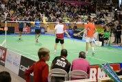 championnat de france de badminton Double Homme à St Brieuc Février 2013