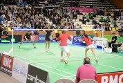 championnat de france de badminton Double Mixte à St brieuc Février 2013