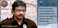 Ram Gopal Varma Tweets on Businessman Movie