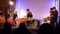Ensemble de percussions, Dragons déployés, tigres bondissants