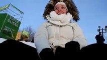 Glisse sur tube fete des neiges 2013 a Montreal !