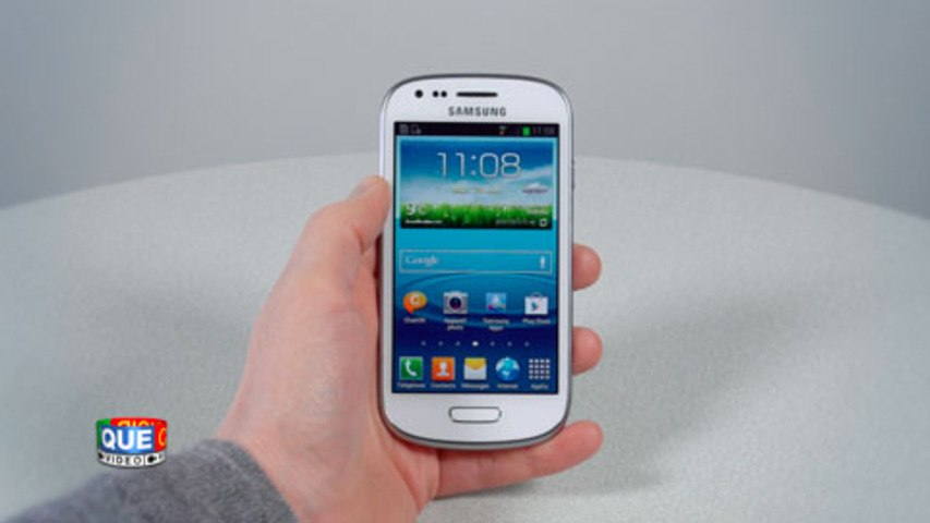 Samsung Galaxy S3 Mini - Prise en main