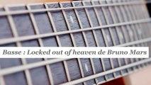Cours basse : jouer Locked out of heaven de Bruno Mars - HD