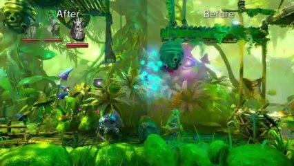 Trine 2 Wii U - comparaison avant et après patch de Trine 2 : Director's Cut