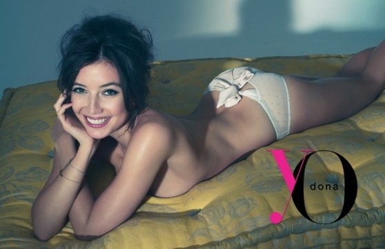 Daisy Lowe in Lingerie for Yo Dona by Benjamin Kanarek
