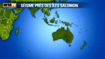 L'alerte au tsunami levée pour les îles du Pacifique - 6/02