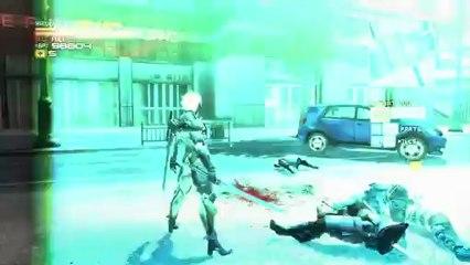 Unique Weapons Trailer de Metal Gear Rising : Revengeance