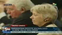 Argentina insiste en diálogo sobre islas Malvinas