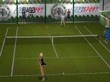 Yannick Noah All Star Tennis '99 : extrait de match