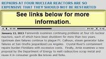 Major Nuclear News this week (Arnie Gundersen 01132013)