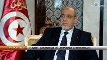 Tunisie : Assassinat de Chokri Belaïd