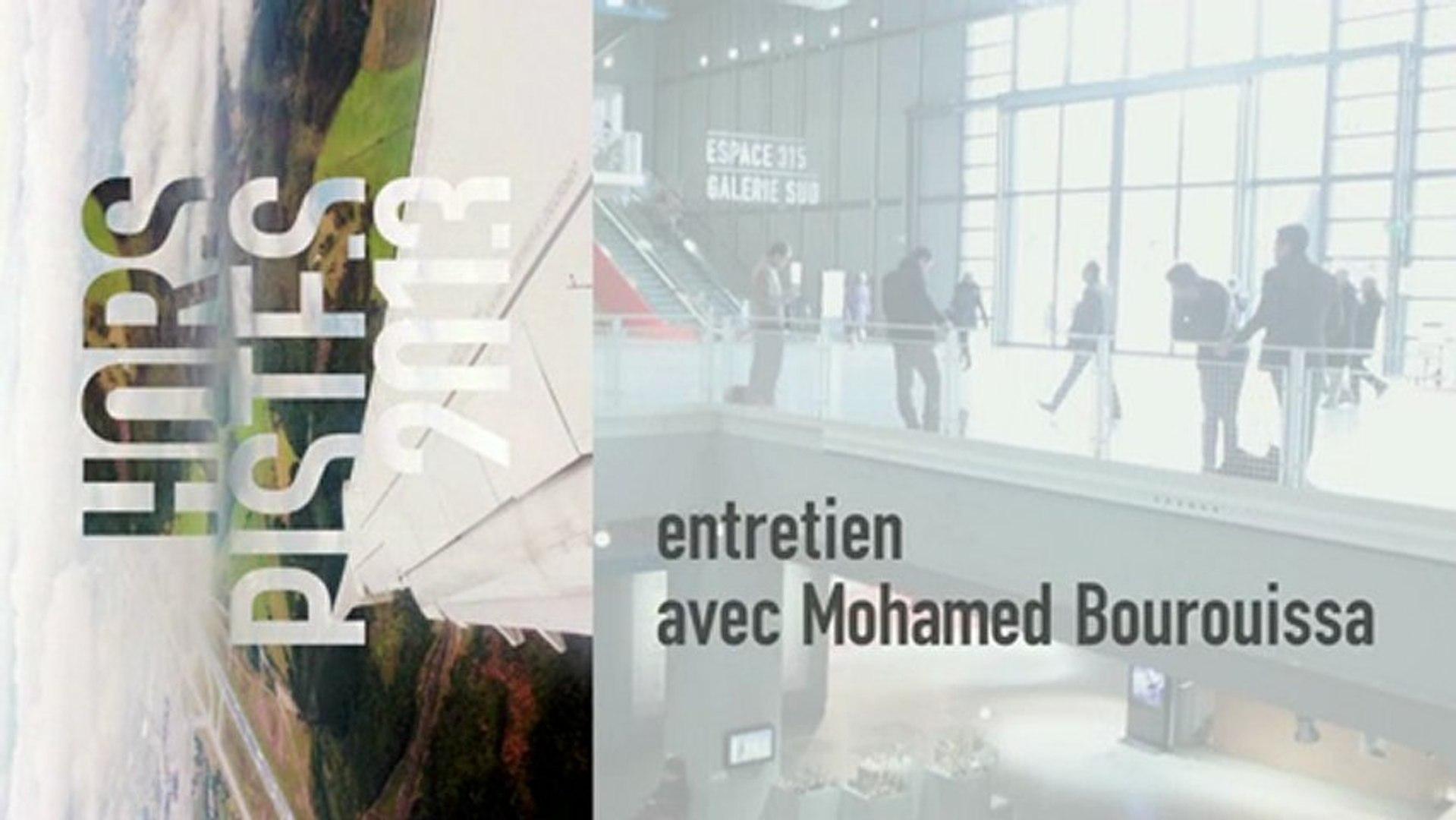 Entretien avec Mohamed Bourouissa autour de Hors Pistes 2013 - cycle du 18 janvier 2013 au  3 févrie