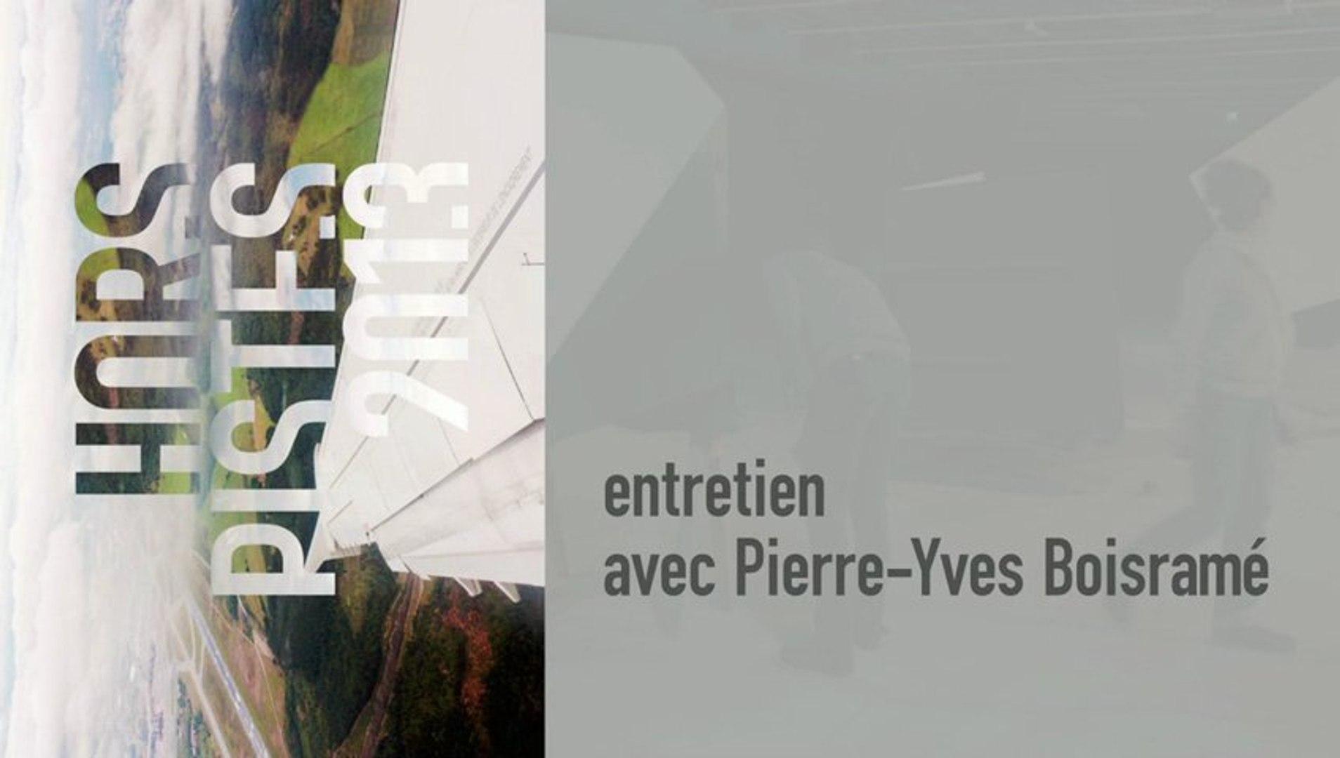 Entretien avec Pierre-Yves Boisramé autour de Hors Pistes 2013 - cycle du 18 janvier 2013 au  3 févr