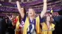 Ellen's Super Bowl Super Fans Feb 05 2013