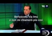 Berlusconi: Via Imu o non mi chiamerò più Berlusconi - VideoDoc. Se non lo faccio lascio Italia. Nuovo nome? Giulio Cesare