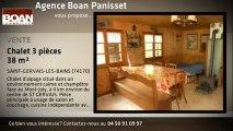 A vendre - Chalet - SAINT-GERVAIS-LES-BAINS (74170) - 3 piè