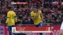 Футбол. Товарищеский матч. Англия-Бразилия. 2 тайм (06.02.2013)