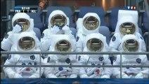 Des astronautes au Stade de France, lors du match France-Allemagne !