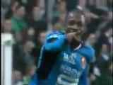 17/02/07 : John Utaka (15') : Saint-Etienne-Rennes (1-3)