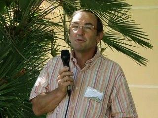 Pierre Speich, FranceAgriMer à Montpellier - août 2012 -1ère Conférence Internationale sur les systèmes de production rizicole biologique