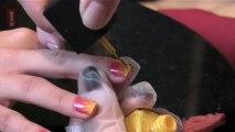 Unhas bem feitas: Carnaval Tie Dye