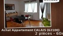 A vendre - appartement - CALAIS (62100) - 2 pièces - 60m²