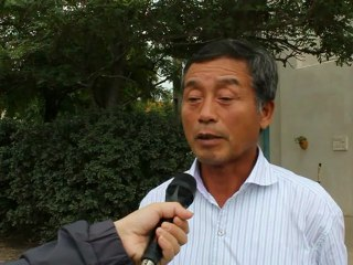 Takao Furuno (Japan Rice-Duck Farming Society, Japan) in Montpellier - First international conference on organic rice production