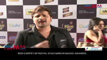 RED CARPET OF ROYAL STAG MIRCHI MUSIC AWARDS.