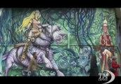 A Londra l'arte è per strada: il tour turistico dei graffiti. Karim Samuels guida visitatori nel mondo dei writers