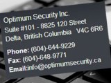 Optimum Vancouver Security Group - Vancouver Security Guard Company - Security Companies in Vancouver