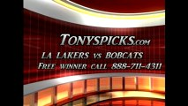 Charlotte Bobcats versus LA Lakers Pick Prediction NBA Pro Basketball Odds Preview 2-8-2013