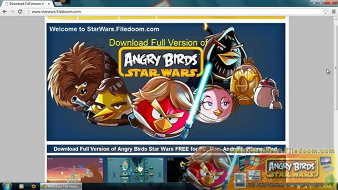 Download Angry Birds Star Wars Full Game Download