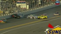 NASCAR Sprint cup Daytona 2013 Practice Big Crash