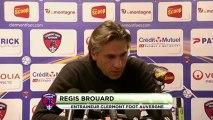Conférence de presse Clermont Foot - Le Mans FC : Régis BROUARD (CFA) - Denis ZANKO (LEMANS) - saison 2012/2013