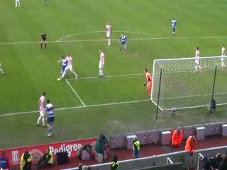 Mariappa's Goal away at Stoke City 09/02/13