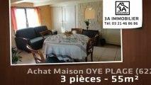 A vendre - maison - OYE PLAGE (62215) - 3 pièces - 55m²