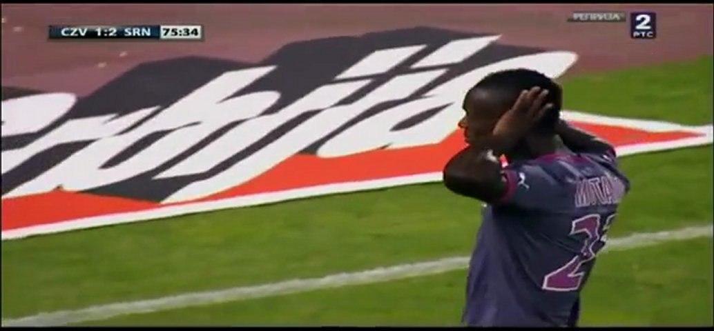 18/08/11 : Victor Montaño (75') : Belgrade - Rennes (1-2)