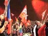36ème Congrès du PCF La Marseillaise et L'Internationale