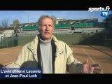 Coupe Davis: l'avis de Leconte et Loth sur Serbie-Franc