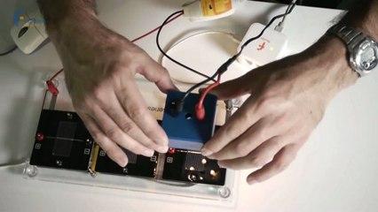 ExAO Biolab : Intensité lumineuse et panneaux solaires