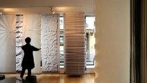 Les panneaux coulissants et cloisons japonaises de Lily Latifi.