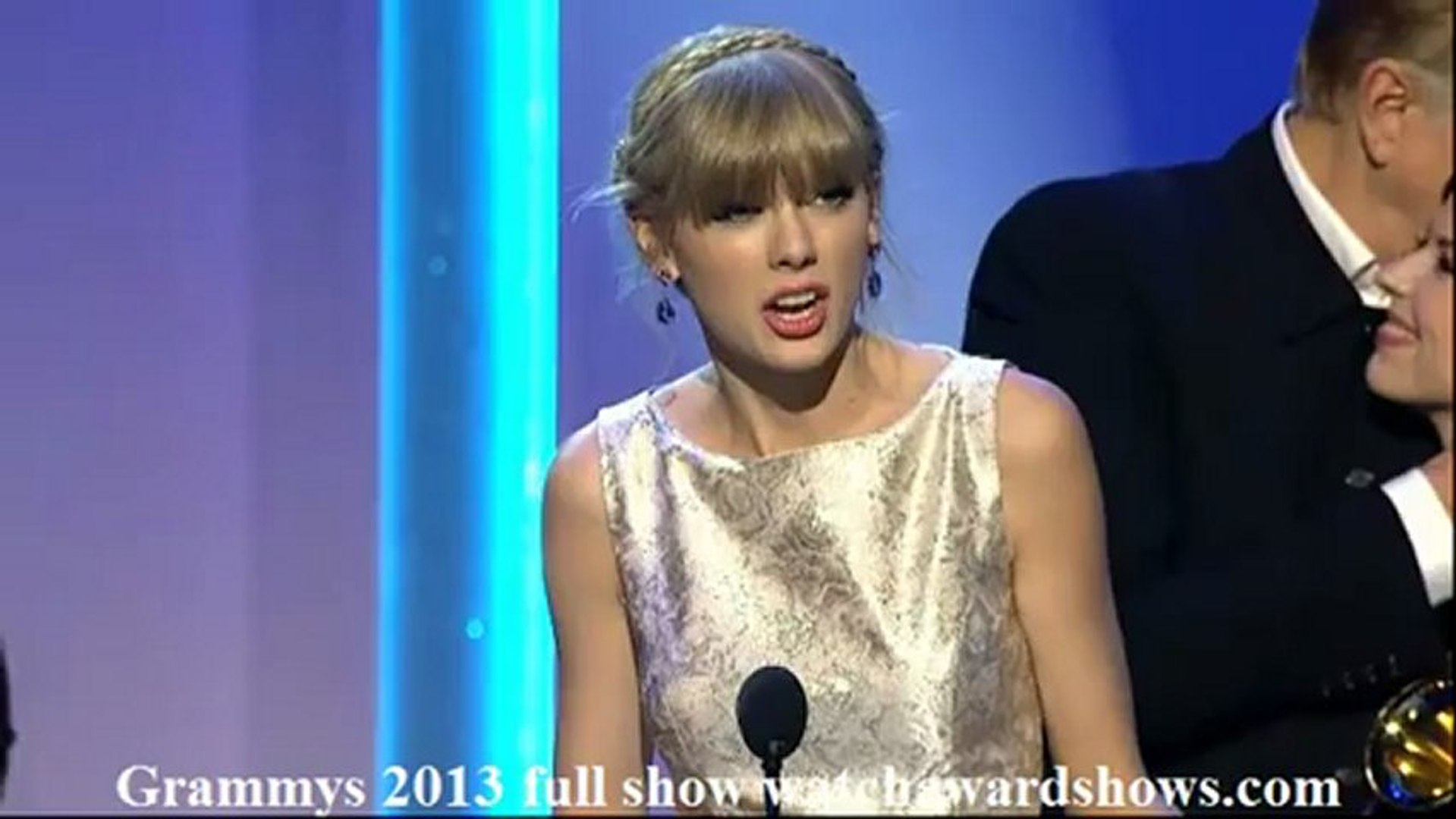 Taylor Swift Civil Wars Acceptance Speech Grammy 2013 Video Dailymotion