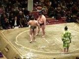 37ième Tournoi de Sumo à Tokyo - Combat Comique de Sumo